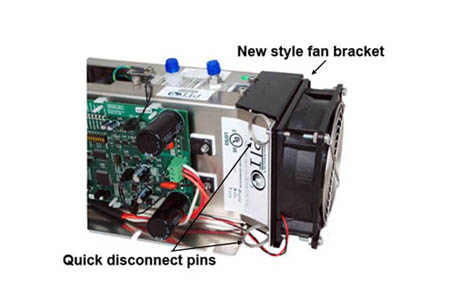 Product Enhancement - Tool-Less Fan Replacement